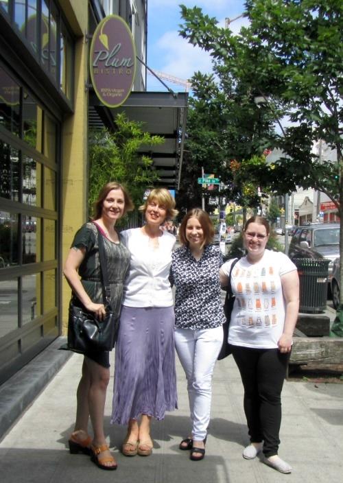 Jean, celeste, Megan and Molly