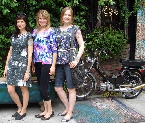 three bloggers