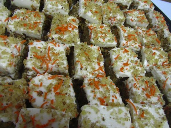 carrot cake from Veggie Grill