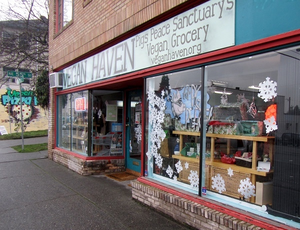 vegan haven storefront