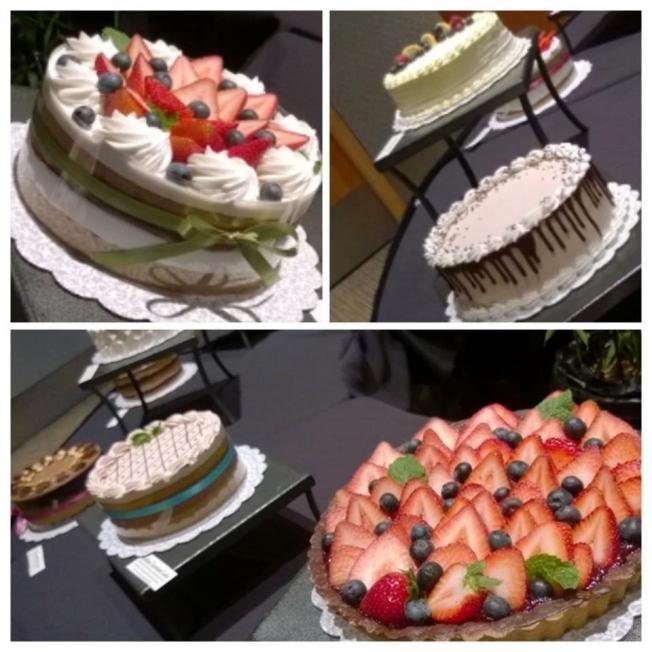 Violet Sweet Shoppe's vegan cakes