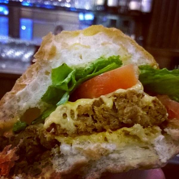 Field Roast burger