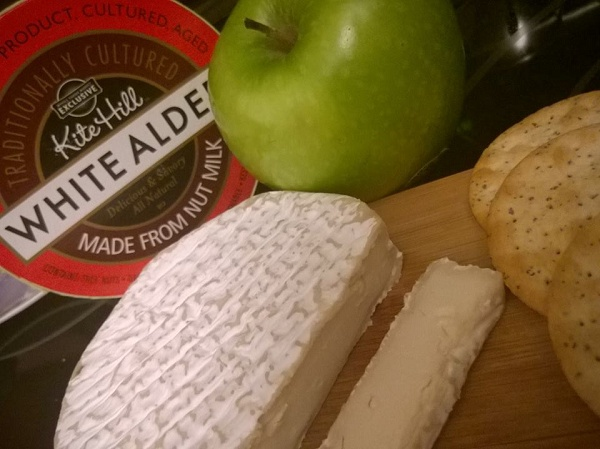 Kite Hill vegan brie
