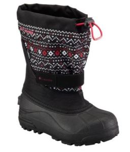Columbia youth Powderbug boots