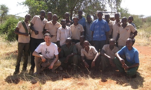 The group fighting for Elephants