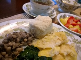 Cherokee Rose Inn breakfasts